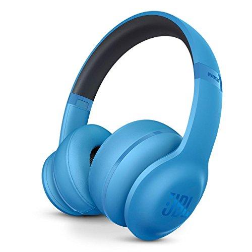 JBL Everest 300 Wireless Bluetooth On-Ear Headphones (Blue) by JBL