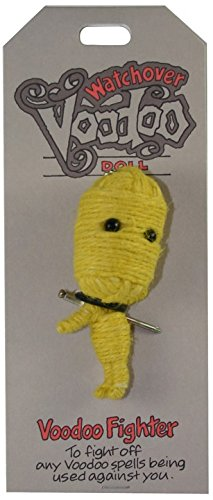 [Watchover Voodoo Voodoo Fighter Doll, One Color, One Size] (Voodoo Doll Costume Child)