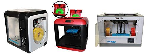 Premium 3D Filament 1.75 mm 500 Gram Exclusively by WOL 3D (Specially For Flashforge 3D Printer/Adventurer 3 / Finder/Dreamer) (Fluo Orange)