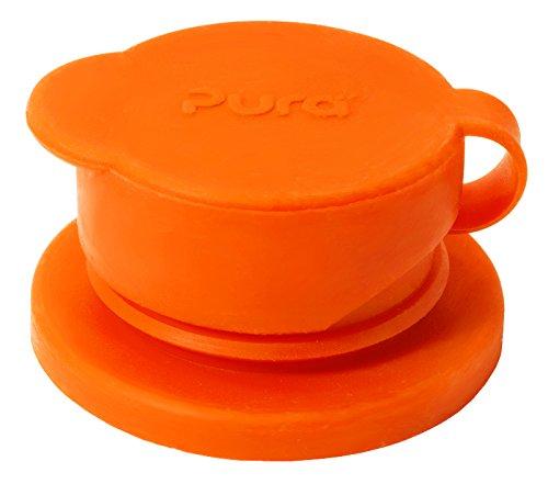 Pura Sport Big Mouth Silicone Sport Top, Orange