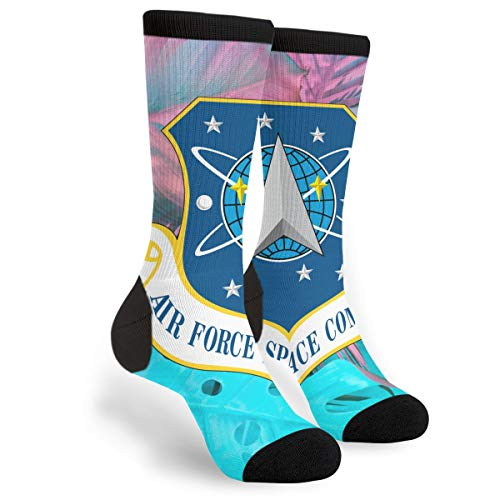 Fashion Travel Breathable Socks US Air Force Space Command Men & Women Running Casual Socks