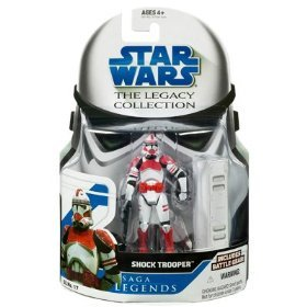 (Star Wars Clone Wars Saga Legends Action Figure SL No. 17 Shock Trooper)