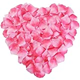 Rose Petals 2000pcs Silk Artificial Fabric Flower for Valentine Ceremony Wedding or Home Hotel Garden Bouquet Party Decorations