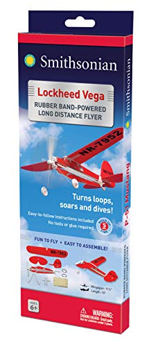 Smithsonian Rubber-Band-Powered Flyers - (Set of 4) by Smithsonian (Image #3)