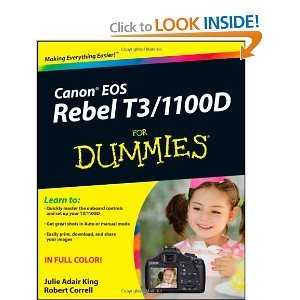 Read Online Canon EOS Rebel T3/1100D For Dummies (For Dummies (Computer/Tech)) pdf
