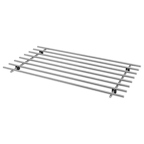 Ikea LÄMPLIG Stainless Steel Trivet (50×28 cm , Silver) Price & Reviews