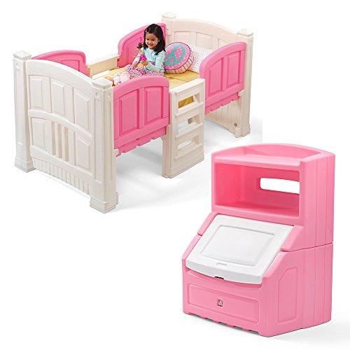 - Step2 Girl's Loft and Storage Bedroom Set