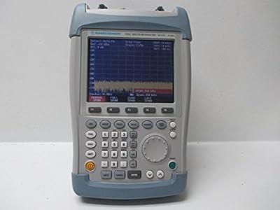 Rohde & Schwarz FSH 6 100kHz-6GHz Handheld Spectrum Analyzer 1145.5850.26 FSH-Z2 with Tracking Generator and Preamplifier