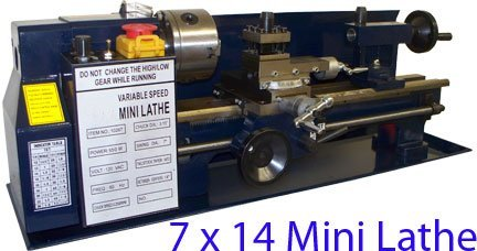 7 X 14 Mini Metal Lathe