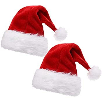 154637cd8a3 Amazon.com  B-Land Unisex-Adult s Santa Hat