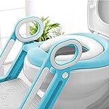BAMNY Potty Training Toilet Seat with Step Stool
