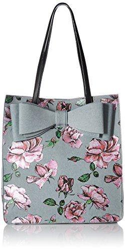 Betsey Johnson Flower Print Bow Tote, ()