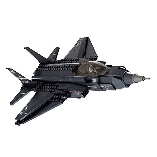 Sluban FBA_M38-B510 M38-B0510 Military Blocks Army Bricks Toy (252 Piece), F-35 Lighting Ii Fighter Jet