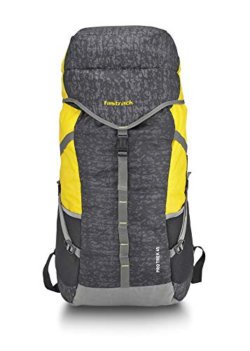 Fastrack 45Ltrs Yellow Rucksack (A0725NBK01)