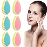Boao 6 Pieces Hair Removal Sponge Depilation Pads