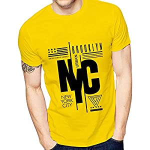 Best Yellow Fit T-Shirt for Men India 2020