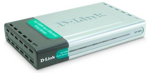 D-Link DP-300U 10/100TX 1-USB Port 2-Parallel Port Print Server
