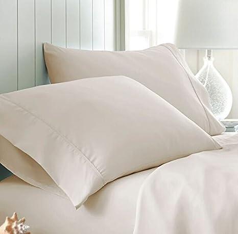 Simply Soft Pillow Case Set, King, Aqua ienjoy Home SS-PILLOWCASE-KING-AQUA