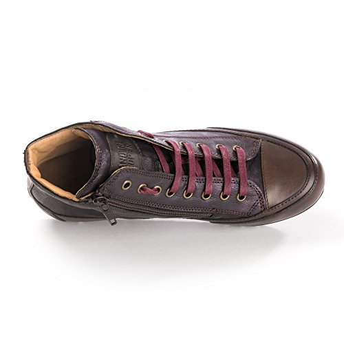 Palmares Trainers Red Candice Tibeian 4 Womens Cooper Zip Plus 6FqwPFB