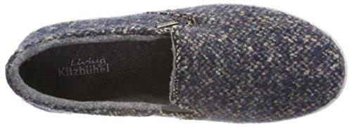 Tweed on Pantofole Living Slip Donna 550 denim Blu Kitzbühel twOOzqnf