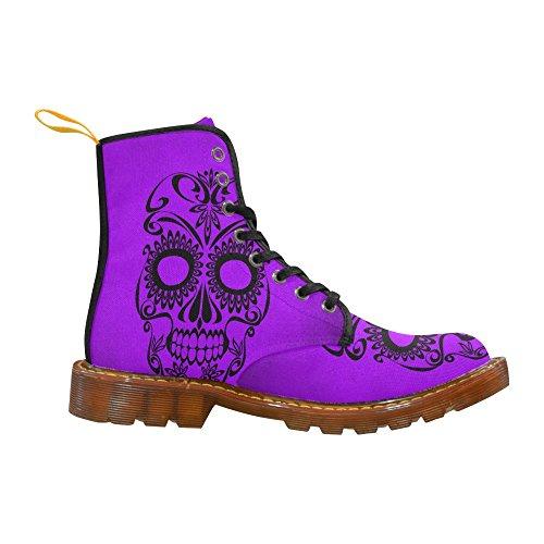 LEINTEREST Skull Martin Boots Fashion Shoes For Men 29sWM