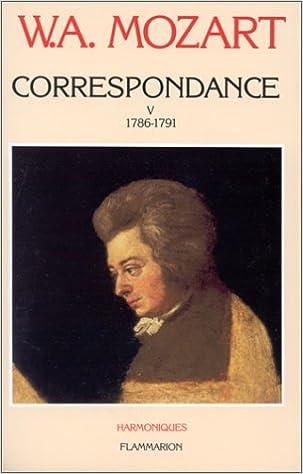 Livre Correspondance, tome 5 : 1786-1791 epub pdf