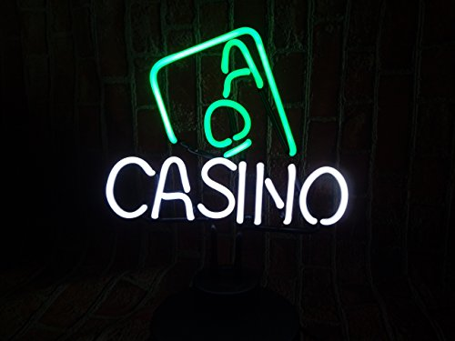 Mirsne Casino Glass Tube Neon Sign Sculpture Purple Moon Neon Light Sign Neon Lamp - Neon Casino Light