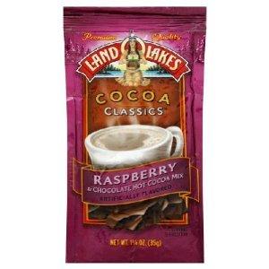 Land O Lakes Cocoa Classics Raspberry 1.25 oz pouches 24 Pack ()