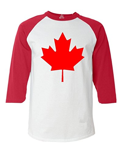 Shop4Ever%C2%AE Canada Baseball Canadian Raglan product image