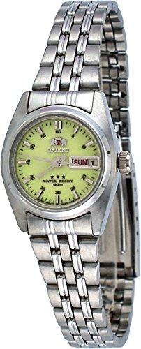 Orient #FNQ1W003R Women's 3 Star Stainless Steel Luminous Dial Automatic ()
