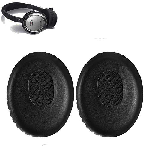 QC3 Earpads Replacement Ear Pad Cushion Muffs Parts Compatible with Bose QC 3 On-ear OE2 OE2i Audio Headphones (Best Price For Bose Quietcomfort 15 Headphones)