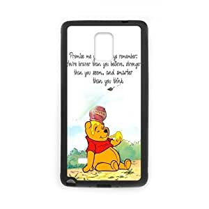 Cartoon Series, Case, Winnie The Pooh Protector For Case Samsung Galaxy S4 I9500 Cover (Laser Technology) Phone Case