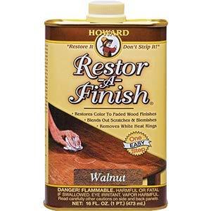 Howard Products Howard RF4016 16 oz. Walnut Restor-A-Finish - 6ct. Case