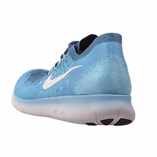 da RN Legend Blue 2017 Platinum Trail Pure Blu 400 Uomo Scarpe Lagoon Flyknit Nike Running Free Blue 56v5X