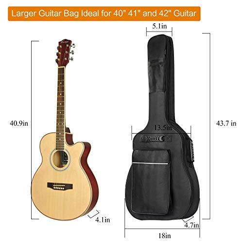 7892f9a943a ... CAHAYA Guitar Bag [Upgraded Premium Version] for 41 42 Inch Acoustic Guitar  Gig Bag ...