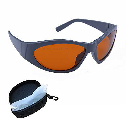 532nm, 1064nm Multi Wavelength Q-switched Tattoo Removal Medical Laser Protective Eyewear Laser Safety Tattoo Goggles for Physician and Medical Laser Technician Nd:yag Eye Protection Glasses Laser Protective Eyewear
