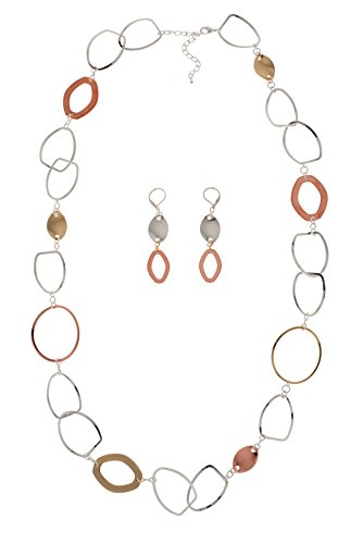 Set Tri Color Necklace - 4