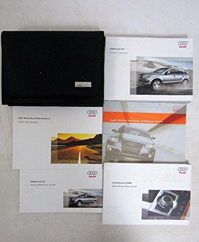 2008 Audi Q7 Q 7 Owners Manual