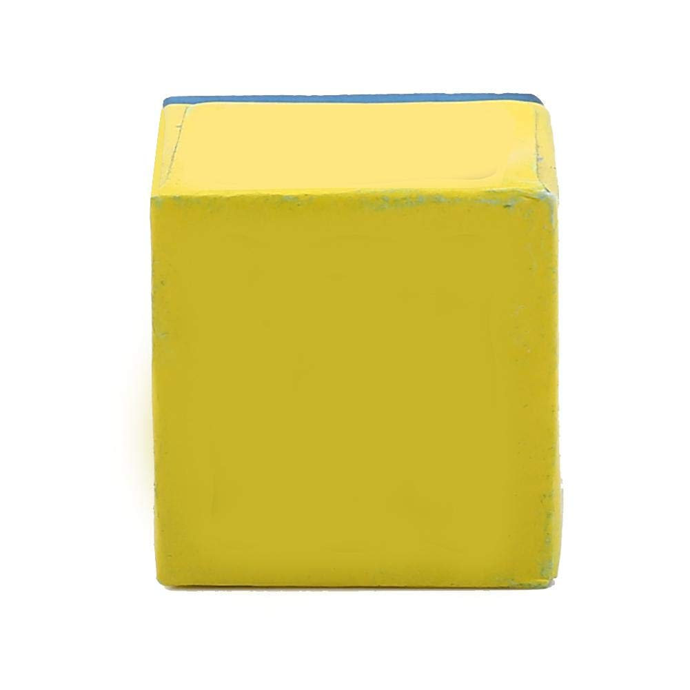 Cue Tips Chalk Billiard Cue Chalk 1 Caja 12pcs Antideslizante Cue Tip Chillar Billiard Pool Cue Chalk para Snooker Pool Blue