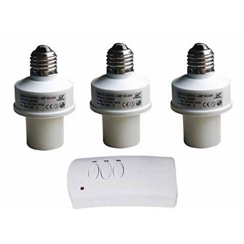 Wireless Remote Control Bulb Socket -Easy Installation For