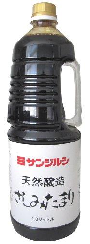 Sanjirushi natural brewing sashimi Tamari earnest pack 1.8L