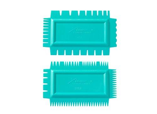 Xiem Tools Ultimate Texture Combs (Soft, Set A) by Xiem Tools