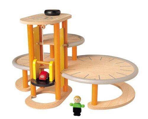 Plan Toys Garage : Plan toys city parkhaus amazon spielzeug