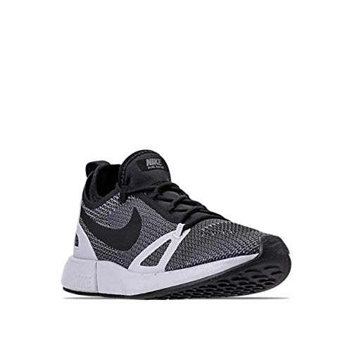 Nike Mens Duel Racer Fabric Low Top Lace Up Trail Running, Black, Size 12.0