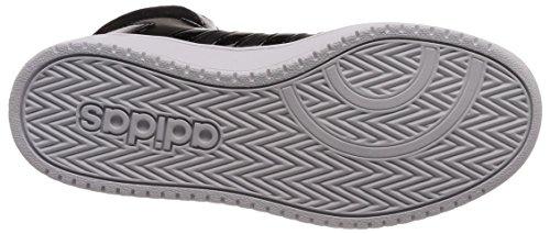adidas Women's Vs Hoops Mid 2.0 Fitness Shoes, FTWR White Black (Core Black/Core Black/Carbon 0)