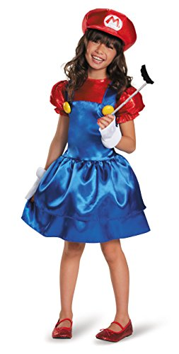 Mario Skirt Version Costume, Medium (7-8) for $<!--$25.92-->