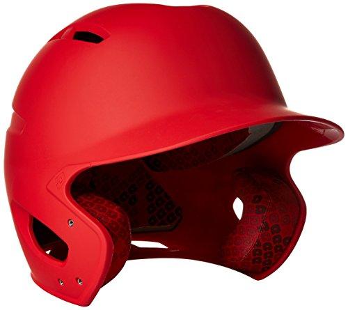 DeMarini Paradox Youth Batting Helmet, Scarlet, Youth