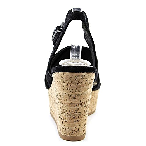 Via Spiga Kendall Damen US 8.5 Schwarz Keilabsätze Sandale