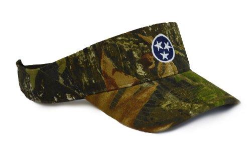 Tennessee State Flag Camo Visor | Camouflage Tennesseean Golf Visor