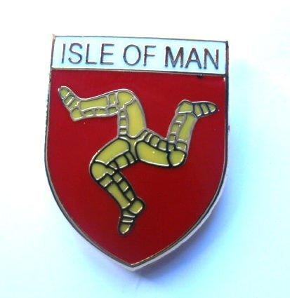 de hombre Tole insignia Isla protectora bandera 8dwHw5Zq